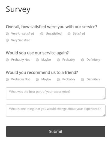 POWr Survey