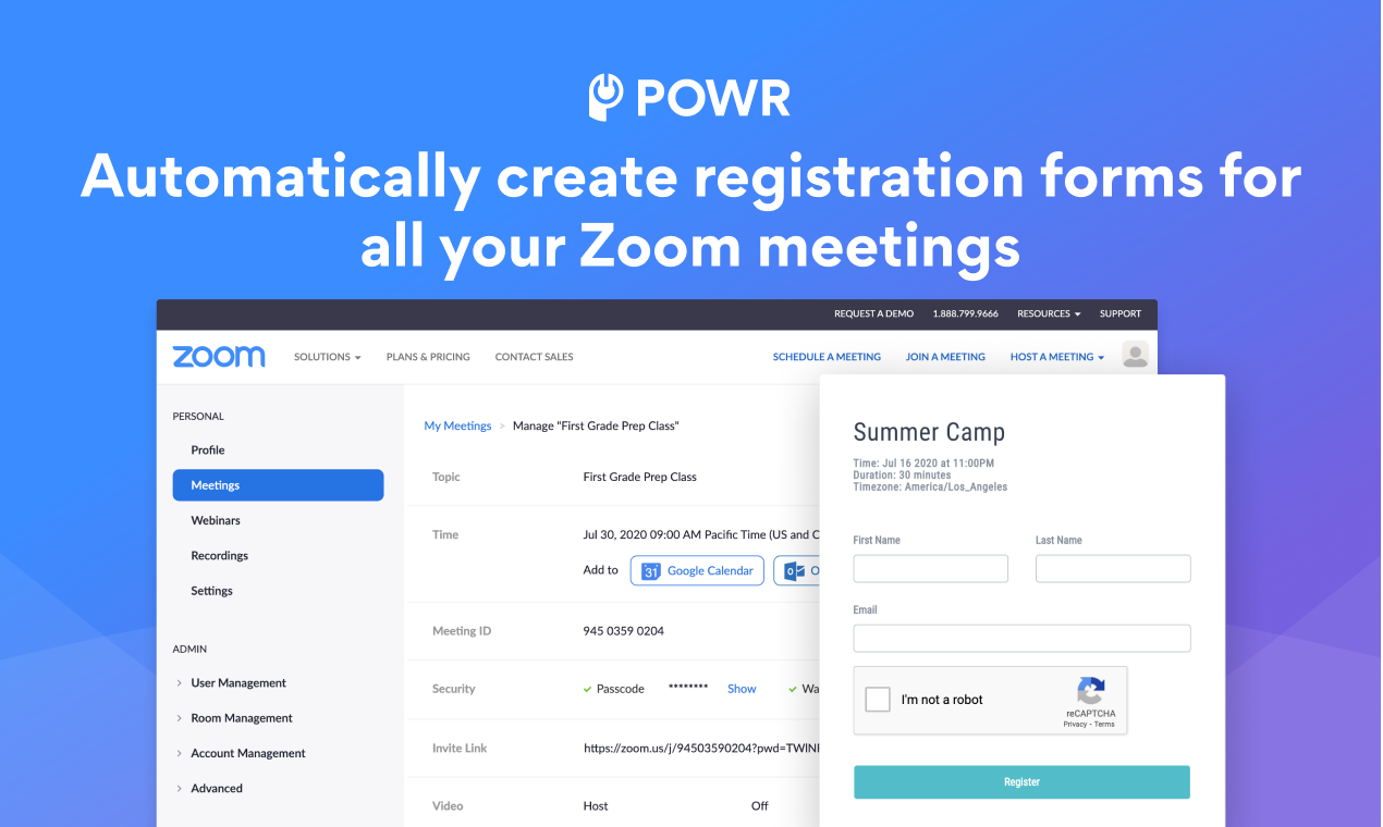 POWR Apps for Zoom