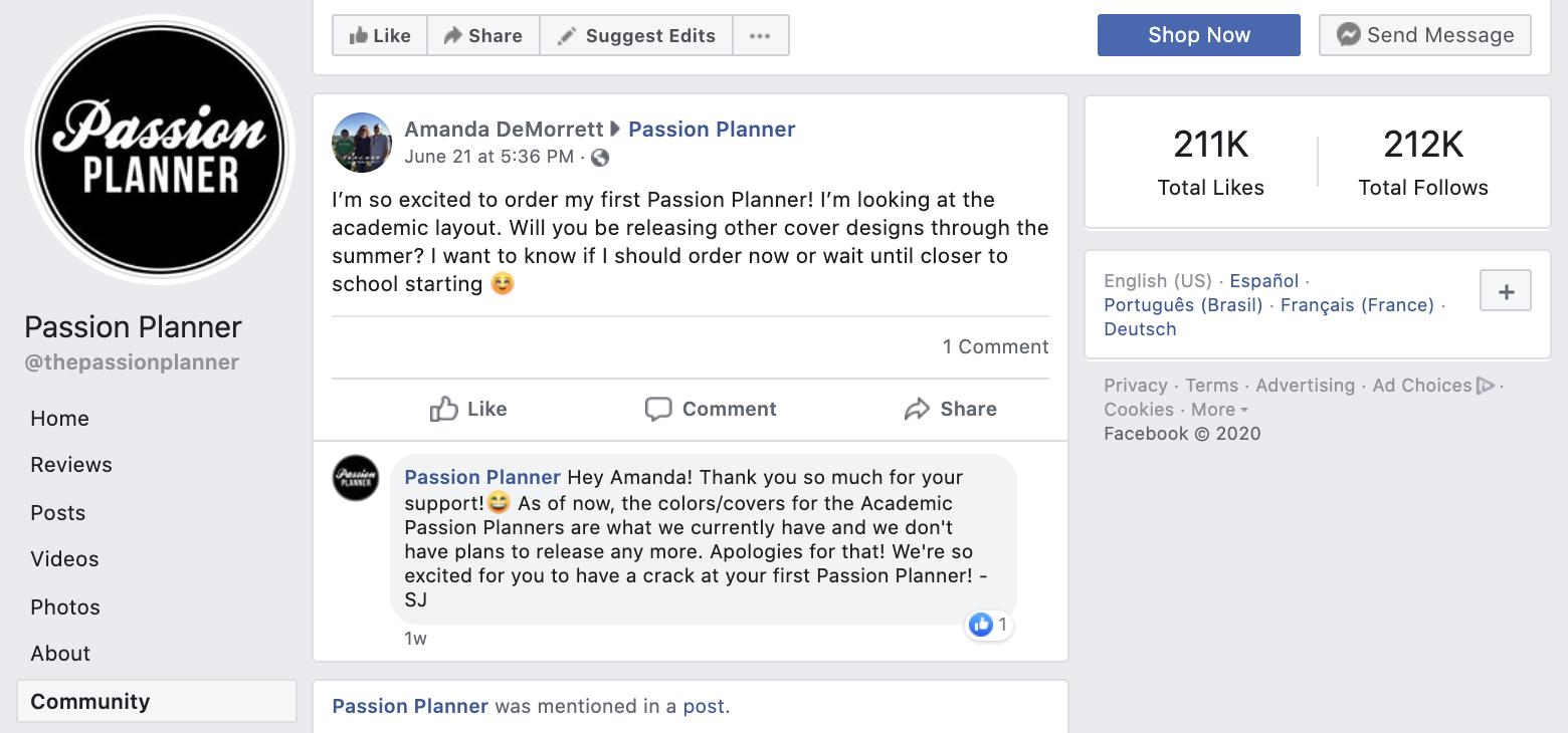 Passion Planner Community